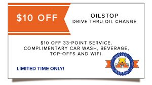 Oilstop Drive Thru Oil Change