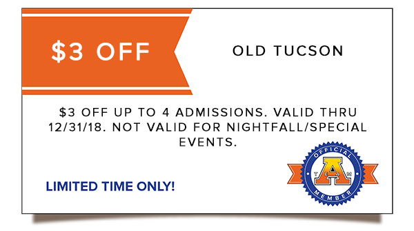 Old Tucson coupon