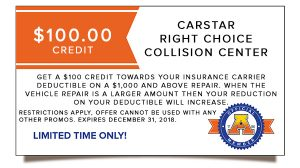 CARSTAR Right Choice Collision Centers